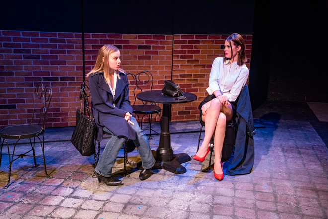 Photographed by: Kip Schawger Directed by: David Taylor Little Scenic Design: Brian Moore Costume Design: Chloe Thomas Lighting Design: Ashley Talcott Sound Design: Zoelle Zellers Hair/Makeup Design: Ovilia Raney Stage Manager: Alexis Cuda Dramaturgs:Gwyneth Clare, Tatum Langley