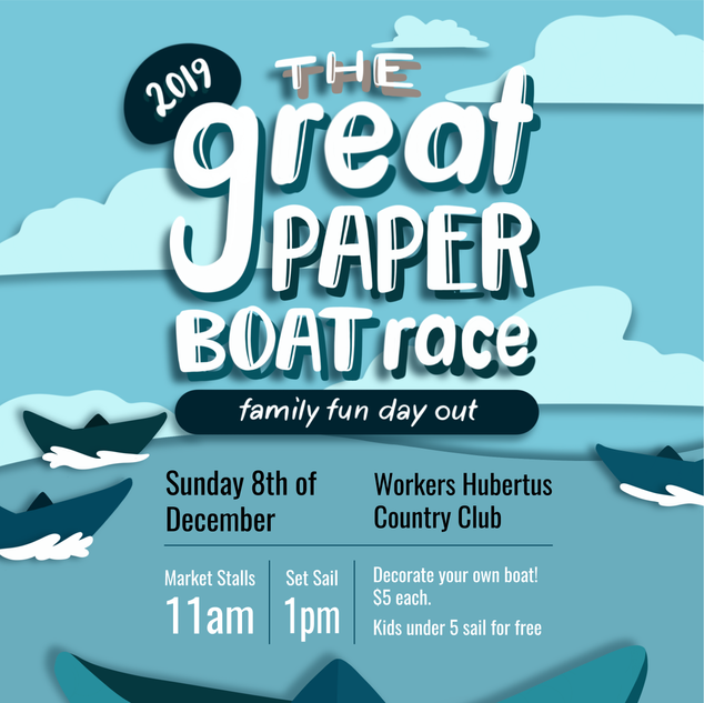 The Great Paper Boat Race