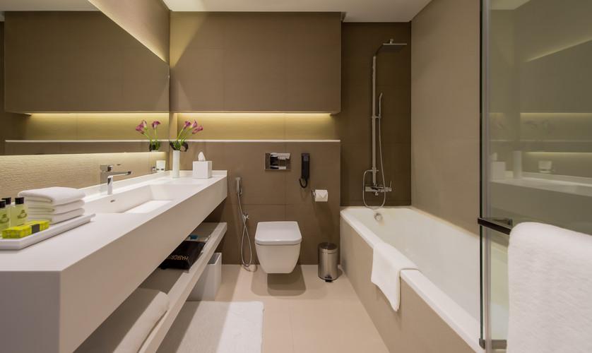 3 BR Residence Master Bathroom View 2 (R
