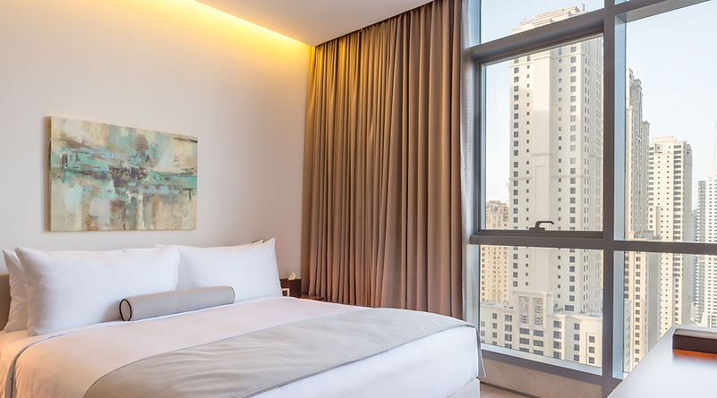 3 BR Residence Master Bedroom (Room 3002