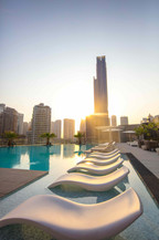InterContinental Life - pool sunrise.jpe