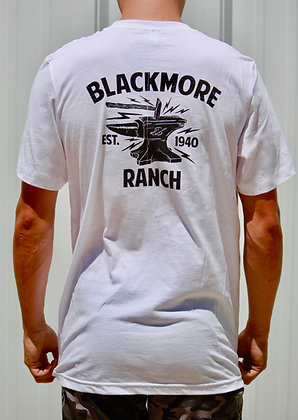 Blackmore Ranch Men's T White