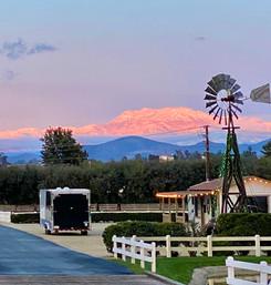 View of San Jacinto Mountains