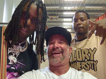 Chief Keffe, Jeff Blackmore & Friend