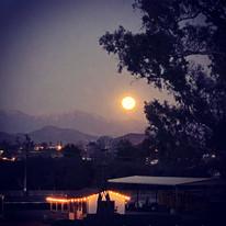 Full Moon at the Ranch