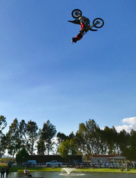 Ranch Fest, Jimmy Fitzpatrick-first backflip over the pond