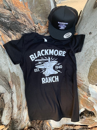 "Women's ""Blackmore Ranch Special"" includes a T and Hat"