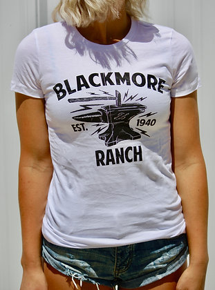 Blackmore Ranch Women's T White