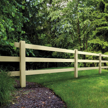 ActiveYards Vinyl Fencing Post and Rail