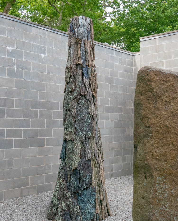 THE TREE, a collaborative project with Laurie Lambrecht while in residence at Robert Wilson's Watermill Center, Spring, 2019