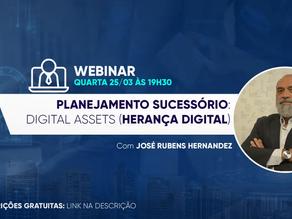 [WEBINAR] Planejamento Sucessório: Digital Assets (Herança Digital)