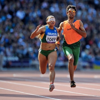 Terezinha Guilhermina: World's fastest blind female athlete