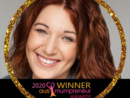 Sydney mum Josephine Lancuba, wins gold at 2020 AusMumpreneur Awards