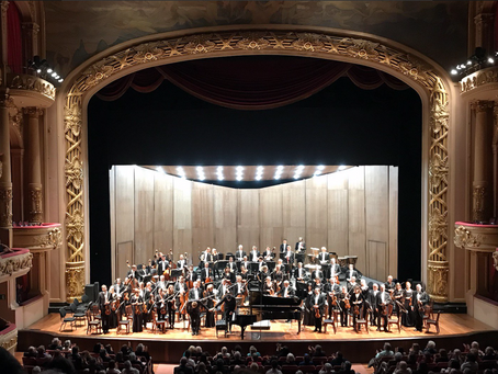 Michael Sanderling & the Dresden Philharmonic in South America
