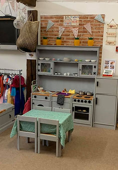 Yorley Barn Nursery Kitchen