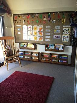 Yorley Barn Nursery Reading Corner