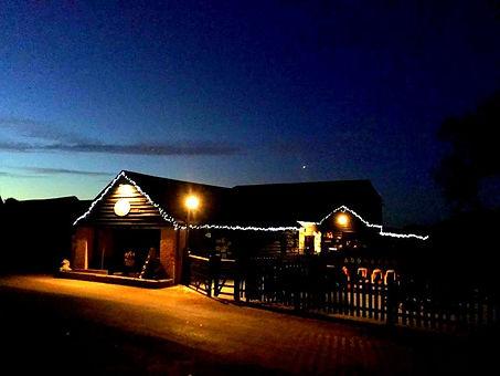 Yorley Barn Nursery at night