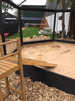 Yorley Barn Nursery Sandpit