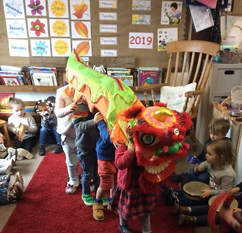 Learning at Yorley Barn Nursery School