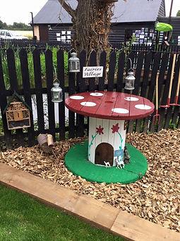 Yorley Barn Nursery Imaginative Play Area