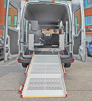 KMP Rollibox Personentransport Rampe Rollstuhl