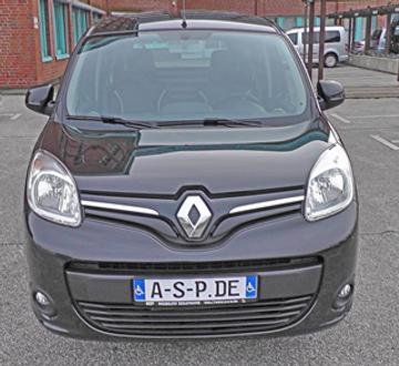 Renault Kangoo Kurz Heckausschnitt