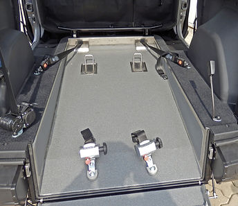 Dacia Doccer Heckausschnitt Innenraum Ausschnitt