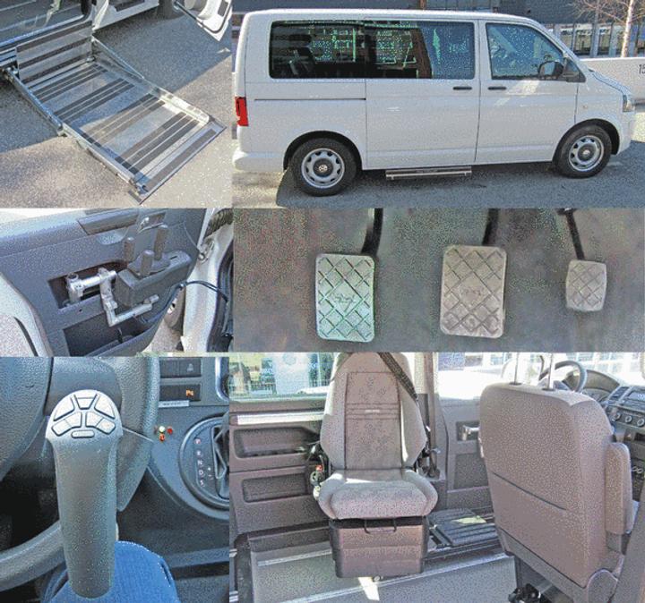 Volkswagen T5 Vermietung