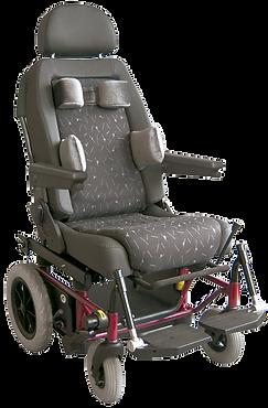 flexible Sitzeinheit mit Rollstuhl Untergestell für Kinder
