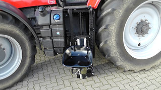 Unikat Personenlift für Traktor