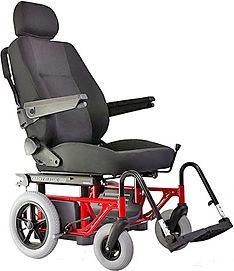 flexible Sitzeinheit mit Rollstuhl Untergestell für Mitfahrer