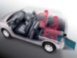 Flexi Ramp Citroën Berlingo Rollstuhltransport