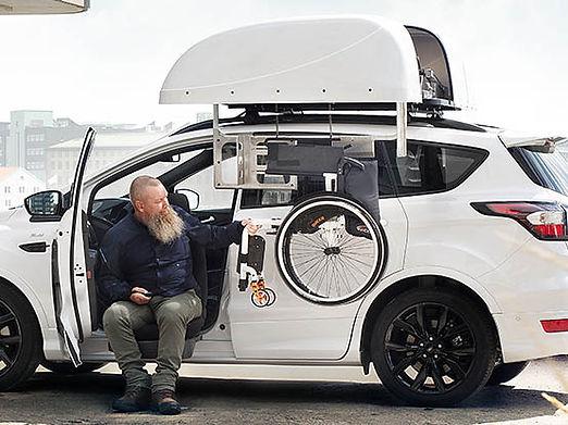 Dachlifter Rollstuhlverladesystem