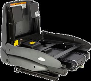 Schwenk-Hebesitz-System mit Motorantrieb, das speziell für Fahrzeuge mit höherem Einstieg