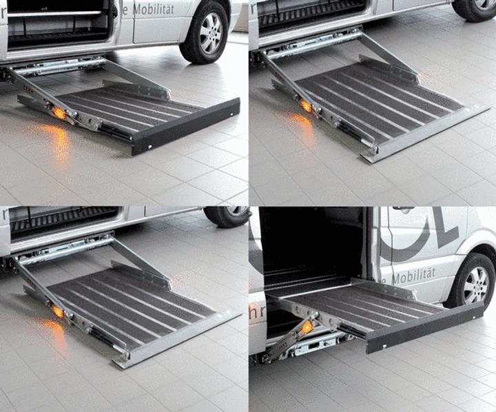 UNTERFLUR-KASSETTENLIFT für die Rollstuhlverladung