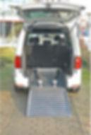 ASP Heckausschnitt Volkswagen Caddy