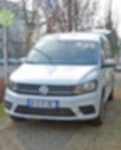 VW Caddy Heckausschnitt
