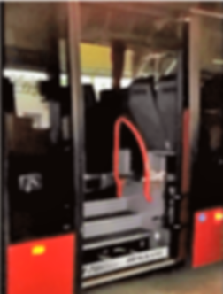 UVL 855 Reisebuslift für die Rollstuhlverladung
