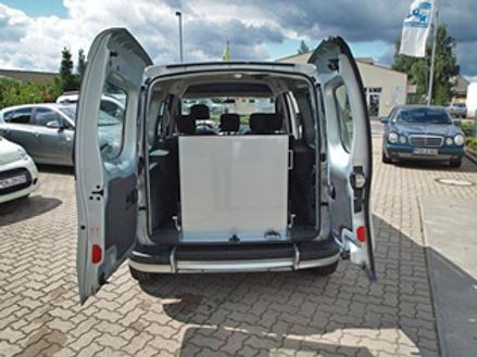 Renault Kangoo Maxi Heckausschnitt