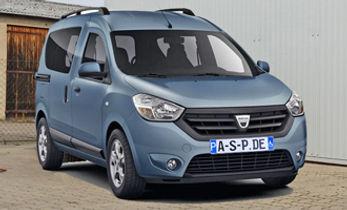 Dacia Doccer Heckausschnitt Front