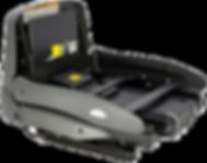 chwenksitz Turny HD mit Hebesitzfunktion ist ein Hebesitzsystem, das manuell herausgeschwenkt und per Elektroantrieb gehoben und gesenkt wird. Der Schwenksitz speziell für Fahrzeuge mit höherem Einstieg entwickelt worden