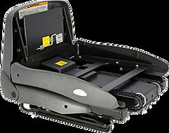 Schwenksitz Turny HD mit Hebesitzfunktion ist ein Hebesitzsystem, das manuell herausgeschwenkt und per Elektroantrieb gehoben und gesenkt wird. Der Schwenksitz speziell für Fahrzeuge mit höherem Einstieg entwickelt worden