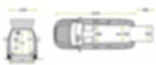 Maßangaben für VW Caddy Aktivfahrer