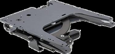 Schwenksitz-System, das es ermöglicht, den Autositz beim Ein- und Aussteigen über die Türschwelle des Fahrzeugs hinaus zudrehen