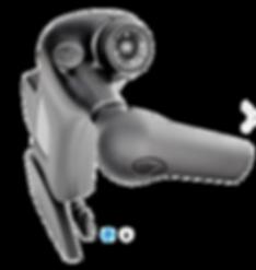 Gasgeben Bremsen Zusatzfunktionen wie Blinken oder Hupen mit einem Finger