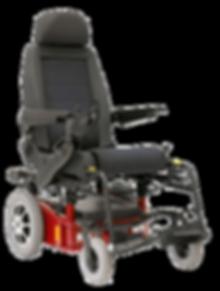 flexible Sitzeinheit mit Elektro-Rollstuhl Untergestell