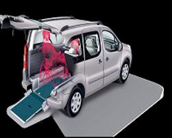 Flexi Ramp Citroën Berlingo Belegungsmöglichkeiten