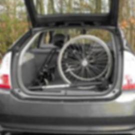 Ladekran Rollstuhl