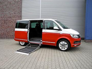 VW T6 Kassettenlift ausgefahren
