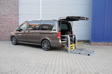 Linearlift Panorama Klappbarer Rollstuhllift
